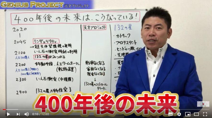 【天才プロジェクト】400年後の未来は、こうなっている!