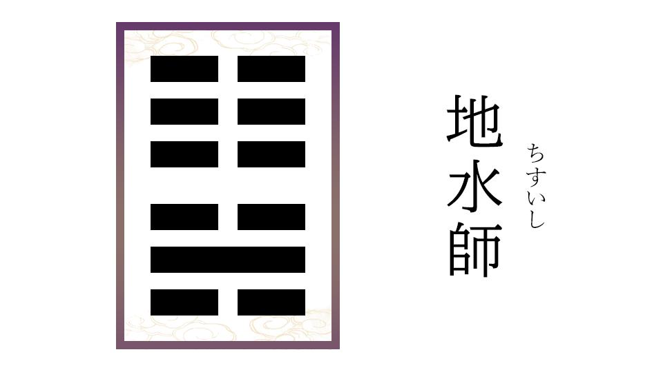 地水師(ちすいし)