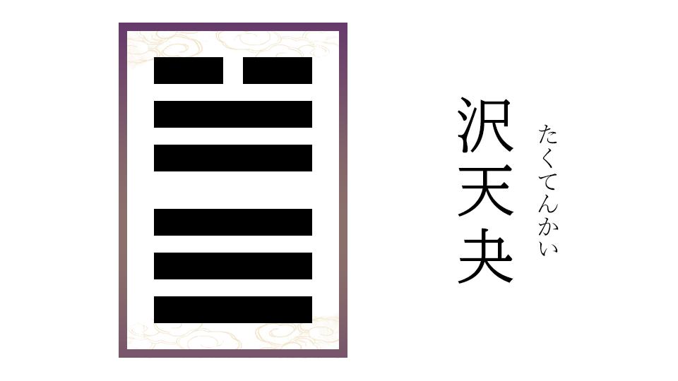 沢天夬(たくてんかい)